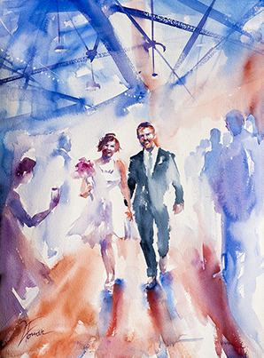 Shaun and Angie's Wedding (sold)